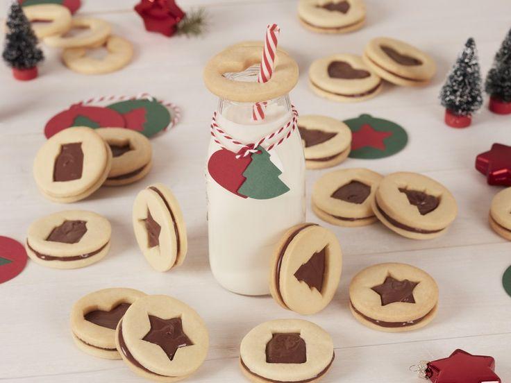 Biscuits sandwichs au Nutella® : Recette de Biscuits sandwichs au Nutella® - Marmiton