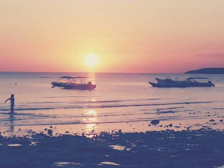 Sunset at Tanjung Bira, Indonesia..heaven..I'm the witness..