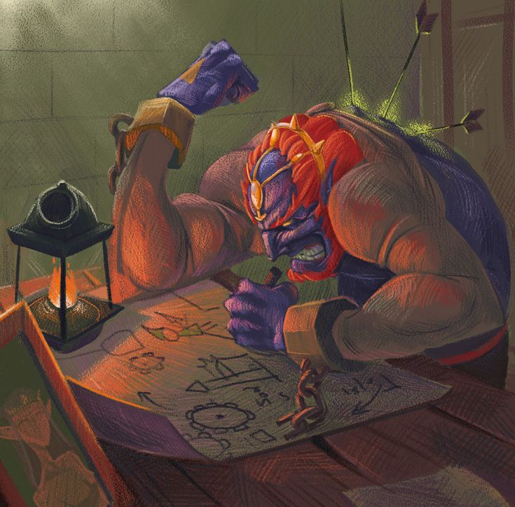The Legend Of Zelda: when the game is over by ~BADpoussin on deviantART