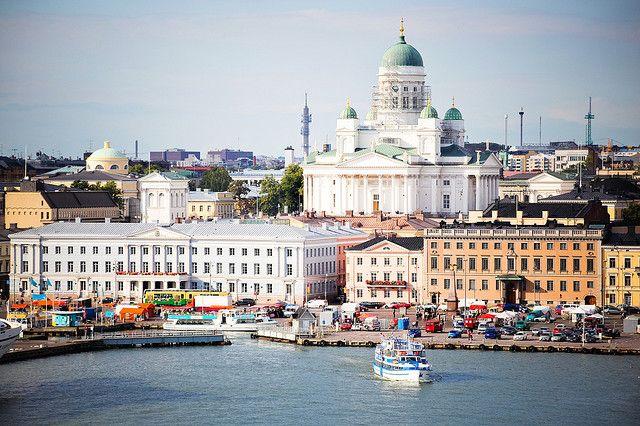 | ♕ | Helsinki Harbor, Finland | by © WomEOS