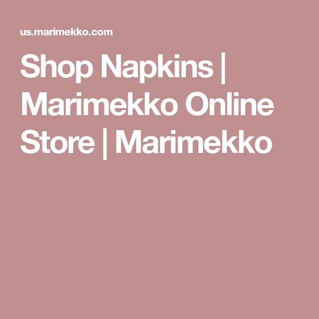 Shop Napkins | Marimekko Online Store | Marimekko
