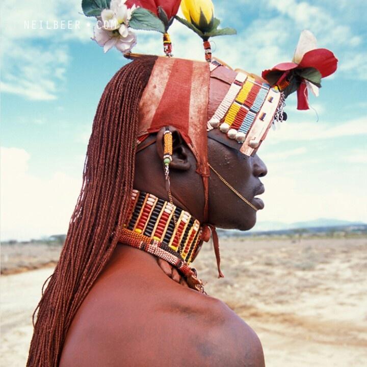 Masai warrior Kenya africa