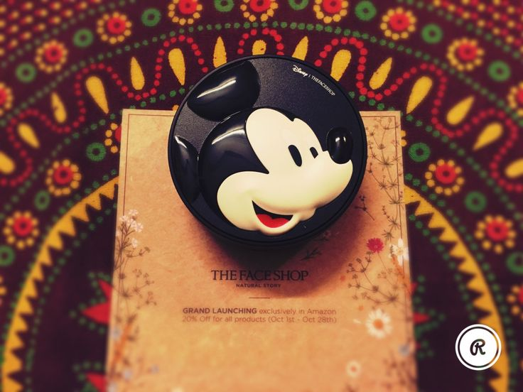 The Face Shop BB Cushion Foundation+Disney Special