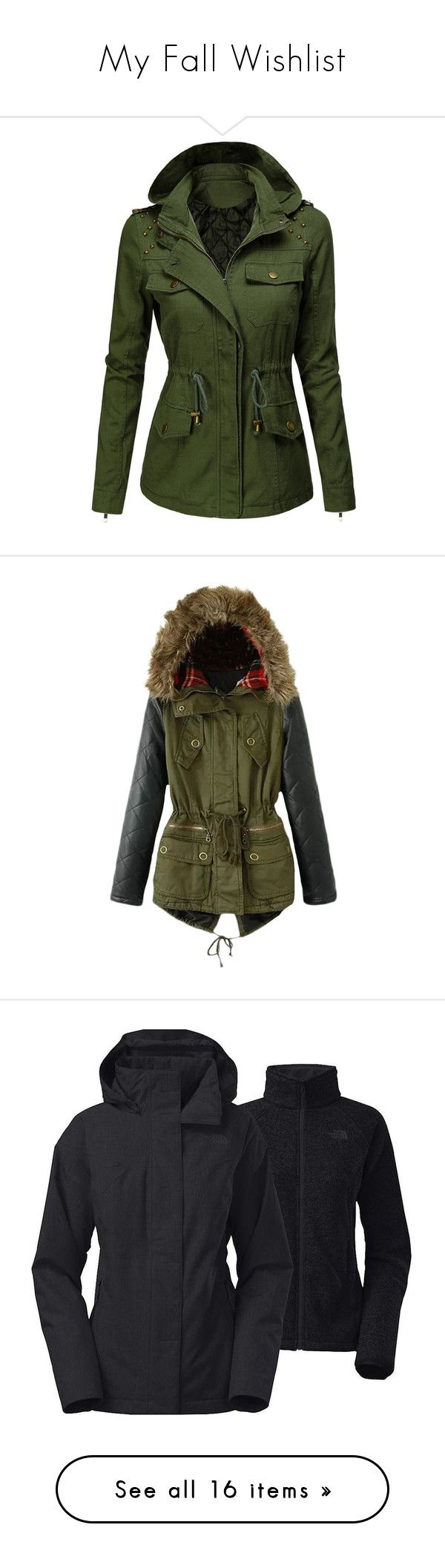 """My Fall Wishlist"" by j-n-a ❤ liked on Polyvore featuring MyFallWishList, outerwear, jackets, tops, military inspired jacket, green jacket, military jacket, green military jacket, green military style jacket e coats"