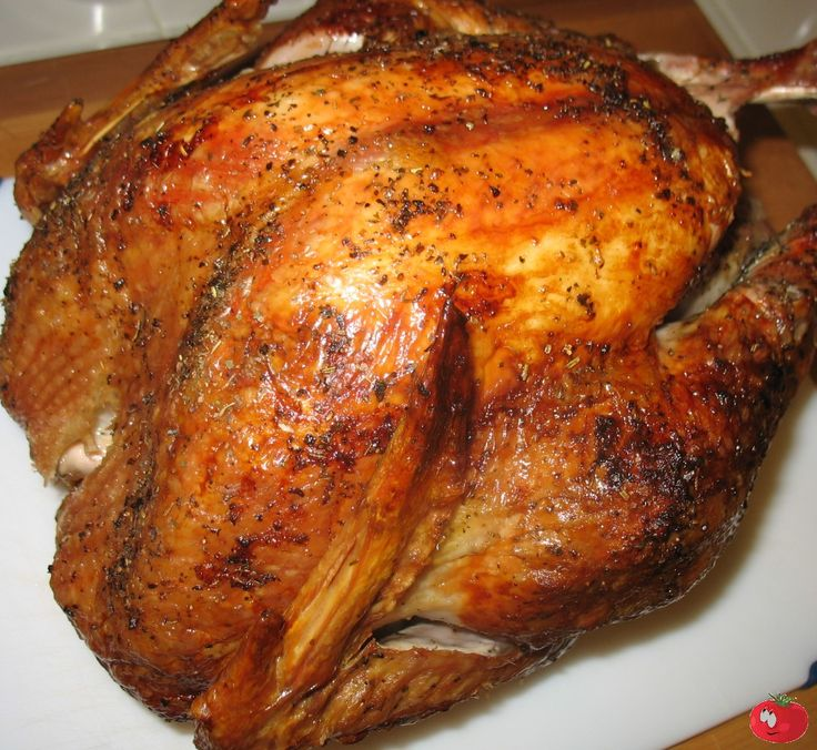 Roasted Turkey on the Char-Broil Big Easy