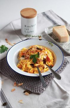 Cremige Kürbis Mascarpone Pasta / Creamy Pumpkin Mascarpone Pasta
