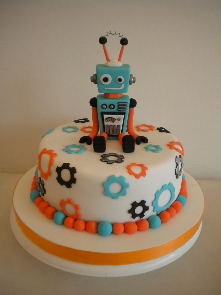 https://flic.kr/p/wpKZQg | Torta Robot