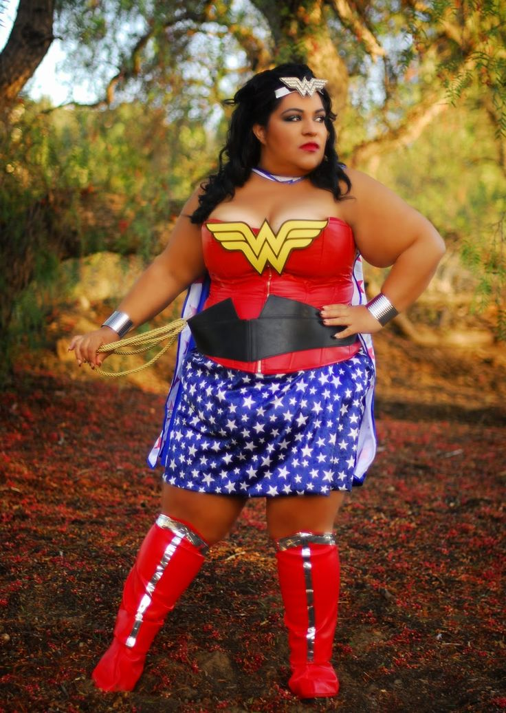 New Blog Post Plus Size Wonder Woman We Do Exist Diy -9079