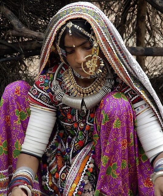 *Kutch woman. India.