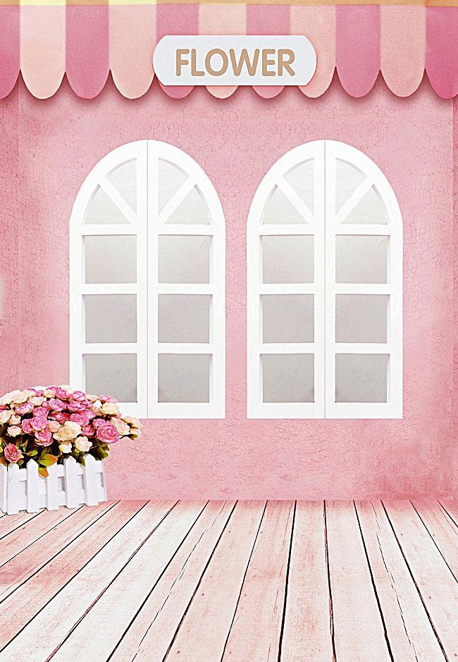 家 建築 ホーム 窓 背景 写真撮影の背景幕 背景幕 ピンクの壁