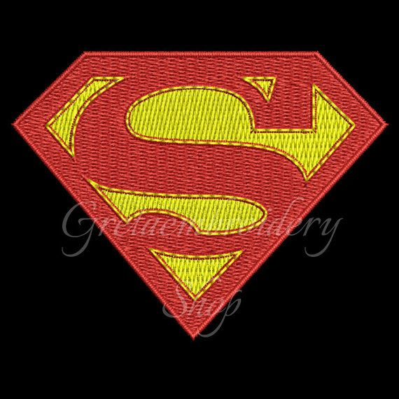 Superman embroidery design,instant download,Machine embroidery designs,Superman logo,superheroes embroidery