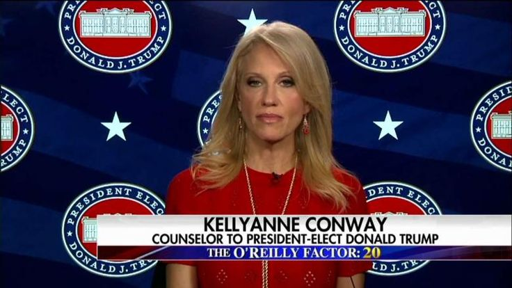 1/6/17 - Conway: No Evidence That Russian Hacking Affected Election Result !!!