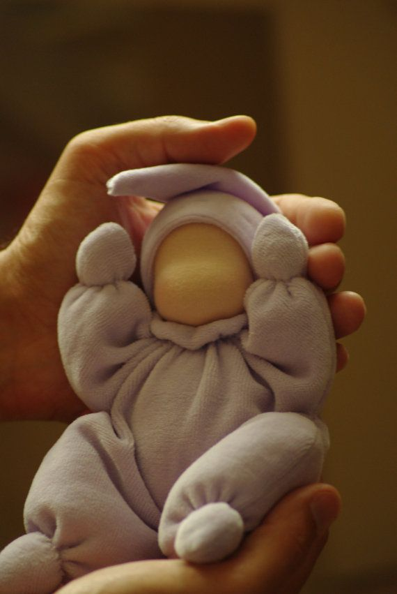 Waldorf doll for baby // Waldorf butterfly doll // by TaleWorld