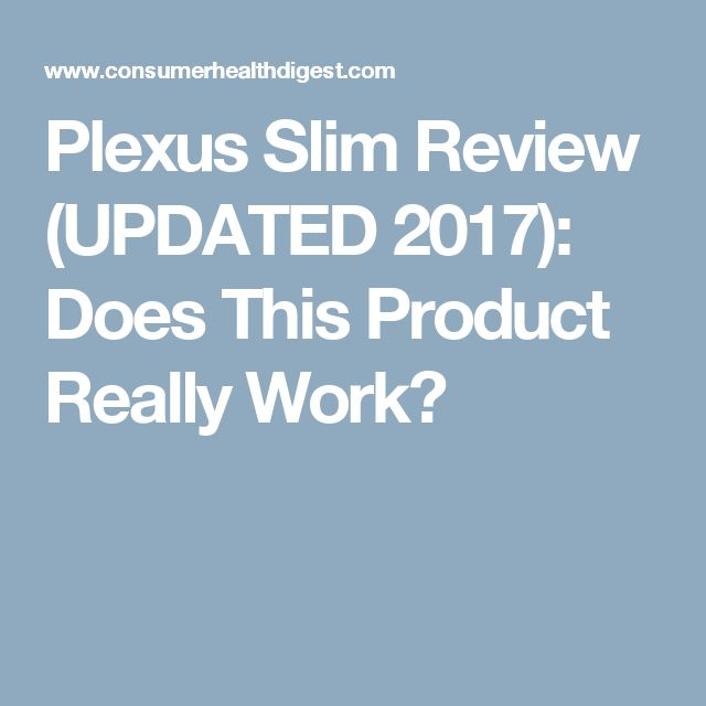 Plexus Slim Review (UPDATED 2017): Does This Product Really Work?