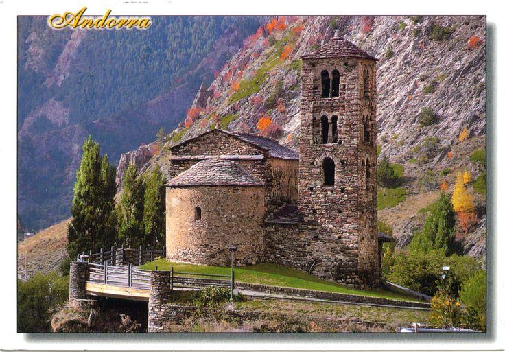 ANDORRA - Romanesque churches of Andorra