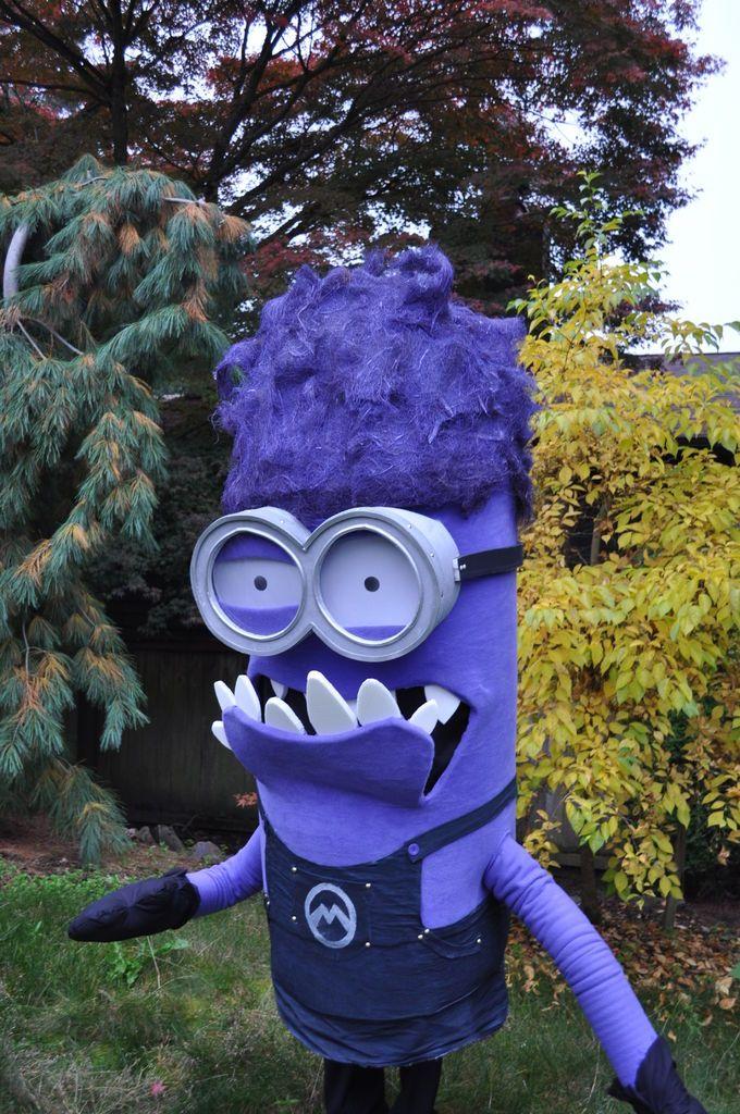 8 best purple minion costume images on Pinterest | Purple ...