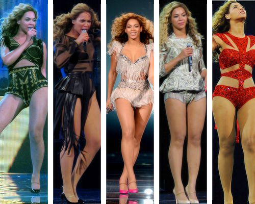 Beyonce at Revel Ralph outfits