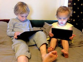 The Case for Preschoolers Having MORE Screen Time :   The American Academy of Pediatrics recommends that children between two and five years old spend a maximum of one hour a day in front of a TV or video screen.  However a reasonable argument can be made that many kids should spend double or even triple the recommended maximum amount.  Straw-man opposing arguments  Of course preschoolers shouldn't spend half their waking hours in front of a screen but a reasonable argument can be made for…