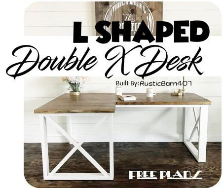 25 best ideas about diy l shaped desk on pinterest diy u shaped desk moderner schreibtisch. Black Bedroom Furniture Sets. Home Design Ideas