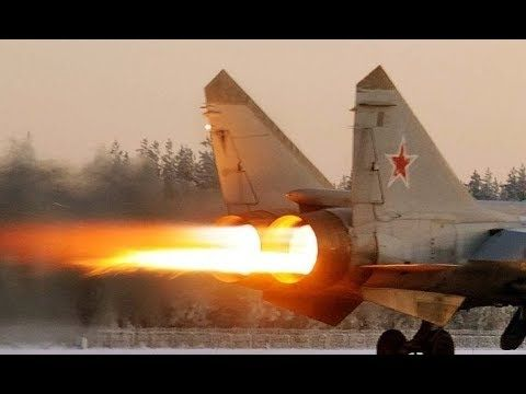A great video of the worlds fastest military aircraft in service today. The Mikoyan MiG-31 (Russian: Микоян МиГ-31; NATO reporting name: Foxhound) is a supersonic interceptor aircraft developed for use by the Soviet Air Forces. The aircraft was designed by the Mikoyan design bureau as a replacem...