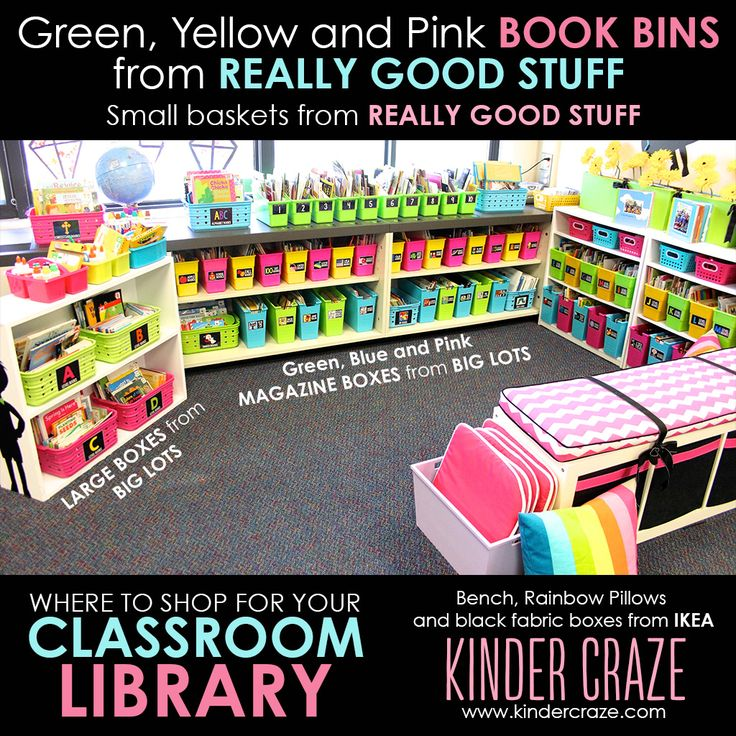 Classroom Library Organization - Simplified