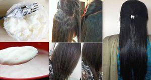 Lissez vos cheveux de façon permanente avec ces 4 ingrédients