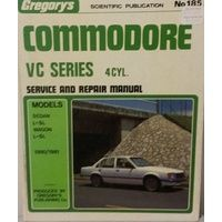 Holden Commodore VC 4 Cylinder Workshop Repair Manual 1978-1980 with MPN GR185