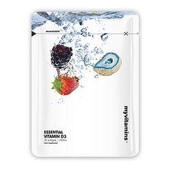 MYVITAMINS ESSENTIAL VIT D3 2500IU 30 Soft gels