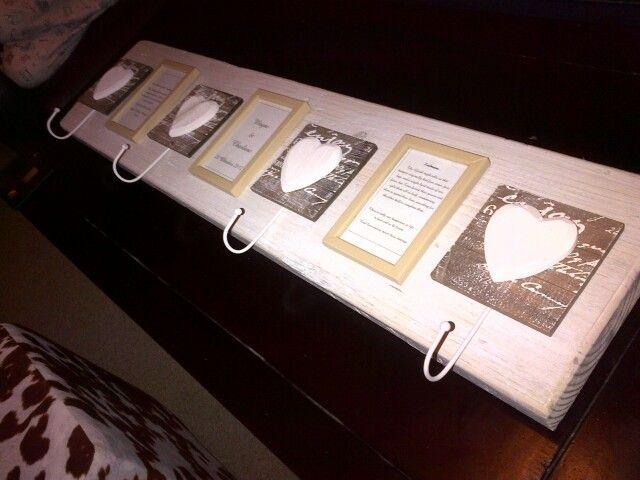 Homemade Wedding present #weddingpresent