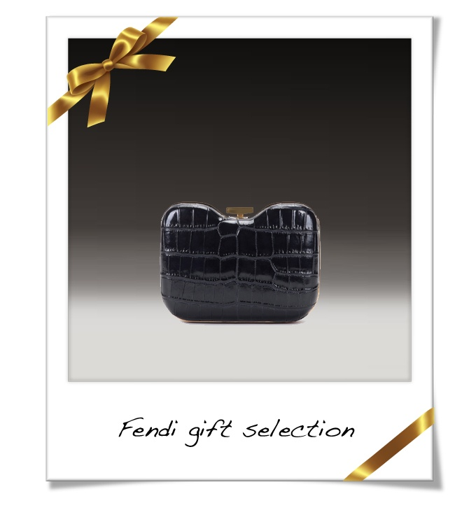 Must-have for this holiday season's parties: Fendi clutch