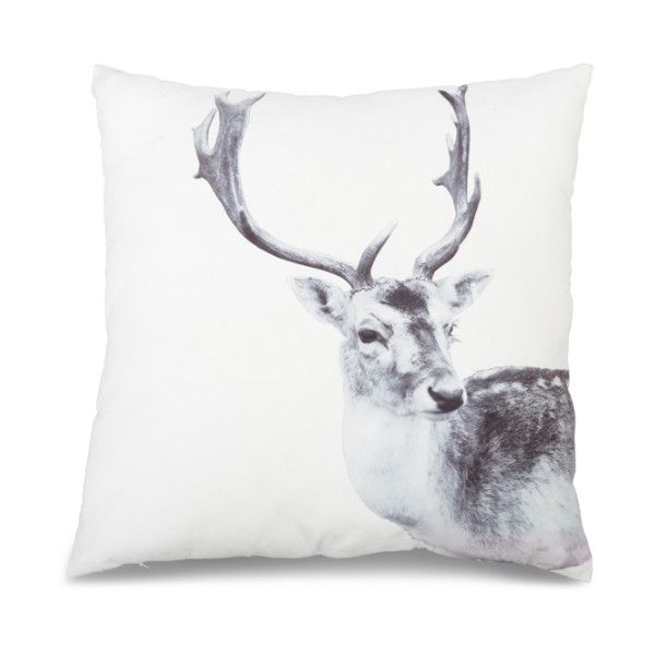 Design 55 Stag Print Double Sided Cushion