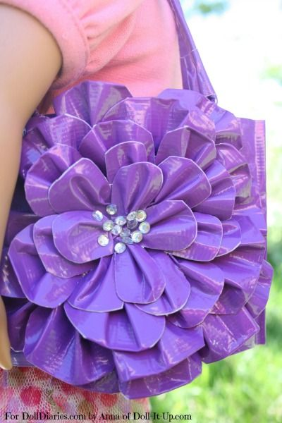 Fun Fashion Bag- Made with Duck Tape! — Doll Diaries