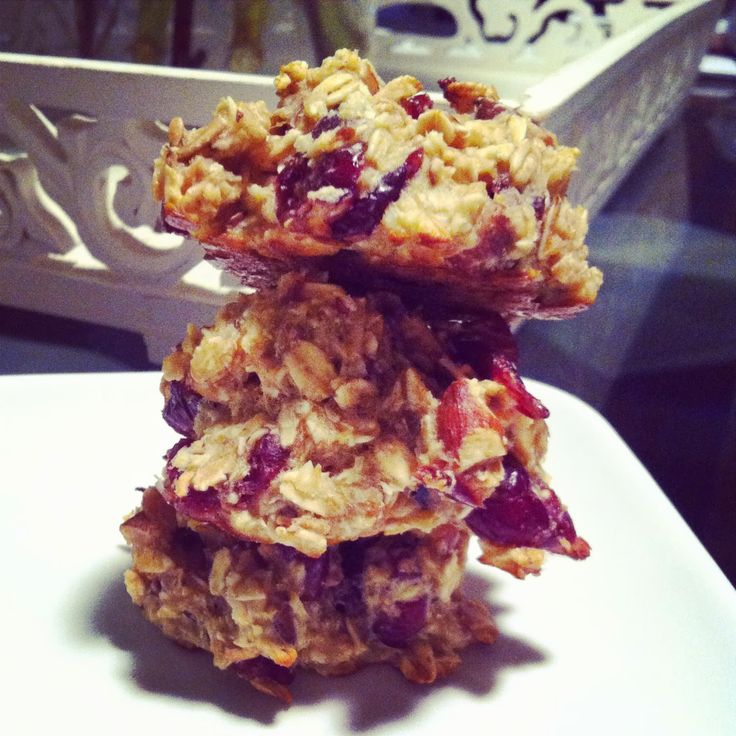 Breakfast bar cookies. Cleanse friendly. Advocare