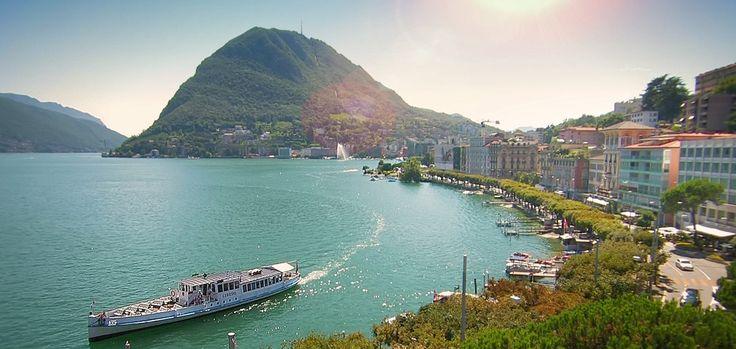 Ausflug | Kreuzfahrt Luganersee | Lugano | Diverse Kreuzfahrten möglich ab Lugano. Mit dem Schiff kann man neue Plätzchen entdecken und den See geniessen.