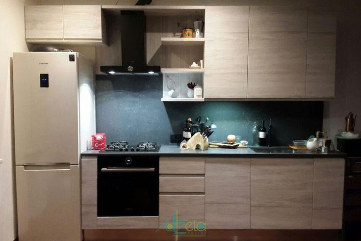 Cucina per bilocale - AzetaDesign