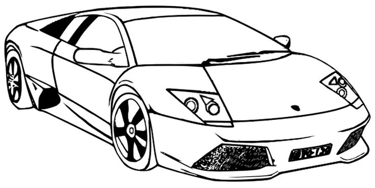 lambergini coloring pages | 72 best images about Transportation Coloring Pages on ...