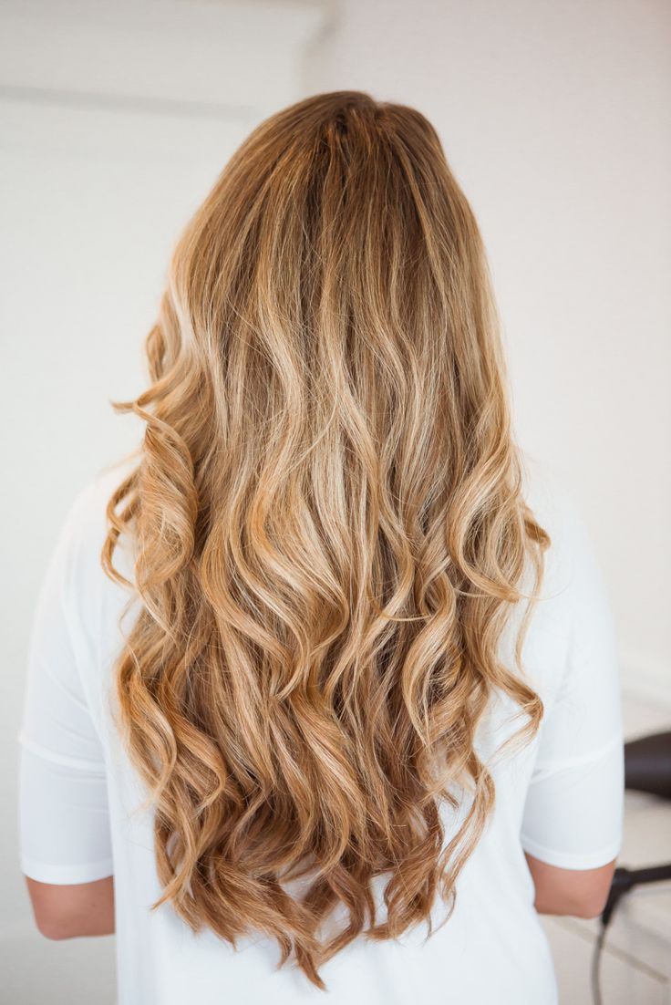 Big, soft curls with 1.25 inch curling iron