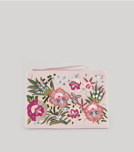 Embroidered Clutch from New Look £22,99