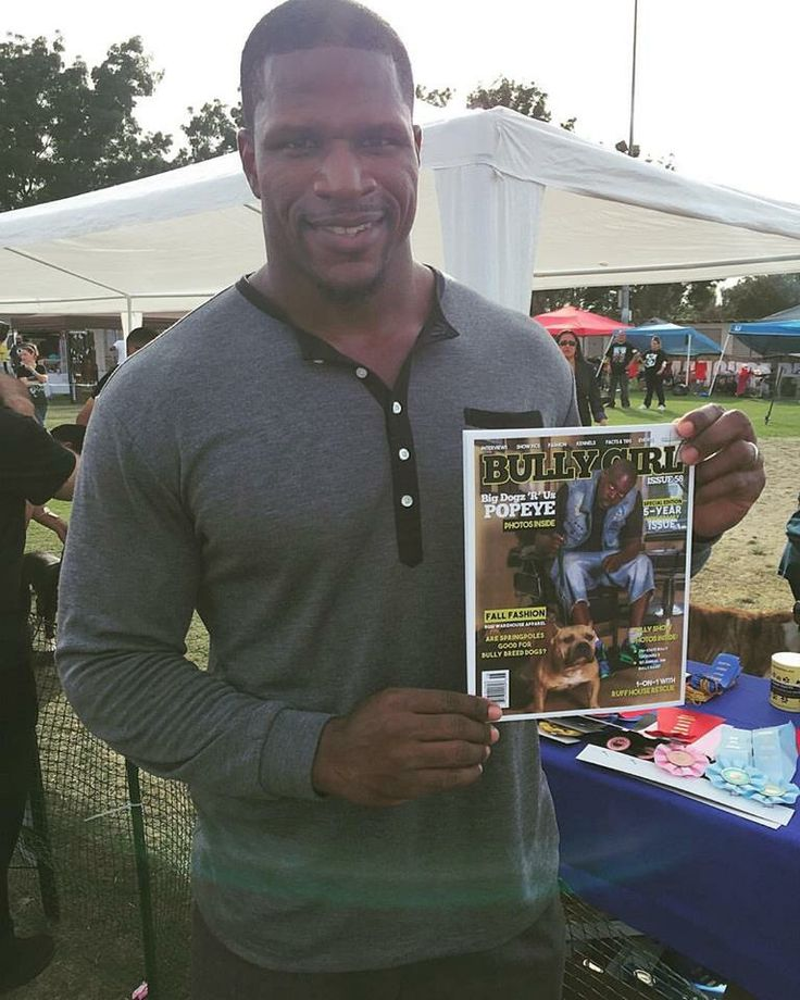 Shoutout to @mr_wimbley for supporting @bullygirlmag out in California today at the 1st Annual Fall Bully Fest !!!  #ilovebgm #americanbully #pitbull #abkc #ibkc #ubkc #rkc #bbcr #bulldog #frenchbulldog #mansbestfriend #dogs #skatelife #skateboarder #hiphop #music #bullybreed #exoticbully #bullylife #gottiline #razorsedge #bullyshows #cooldogs #lovebully #bigdogs #coolbreeds #dogrescue #bullygirlmagazine #mma #bikelife