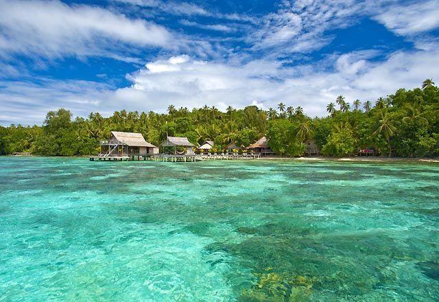 Sanbis Resort, The Solomon Islands.