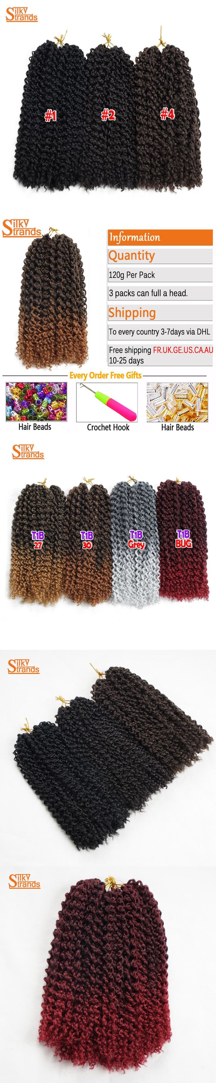Silky Strands Synthetic Crochet Kinky Curly Hair Afro Kanekalon Crochet Braids 12Inch Short Crochet Braid Hair Bulk Braiding