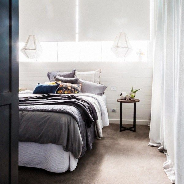 Darren & Deanne's guest bedroom - The Block Glasshouse | Guest bedroom reveals | Blossom and Bright | diy and design