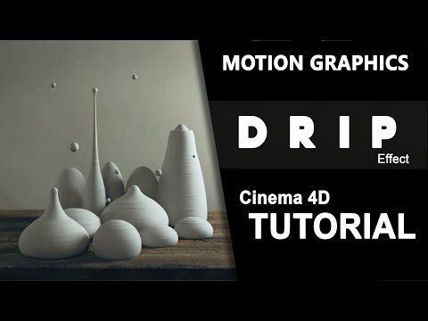 Drip | Motion Graphics | No Plugins | Cinema 4D Tutorial