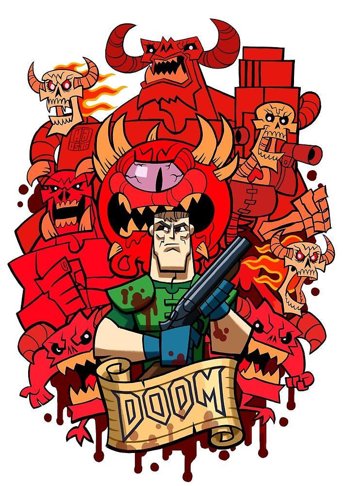 Doomed Doom Doom Game Slayer Meme