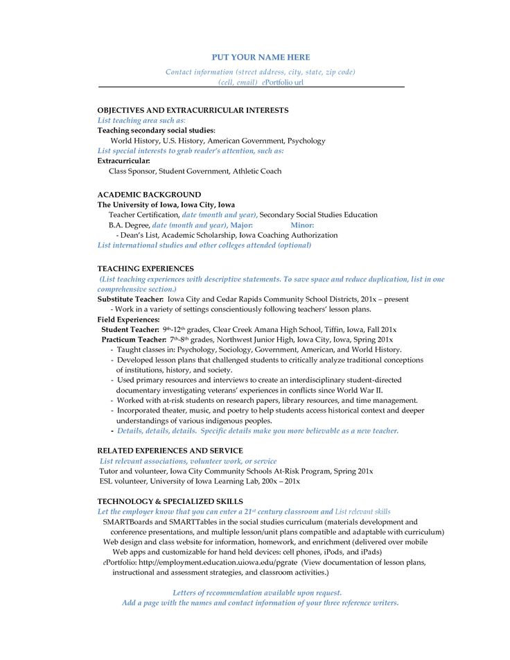 The 25+ best High school resume ideas on Pinterest High school - government resumes examples