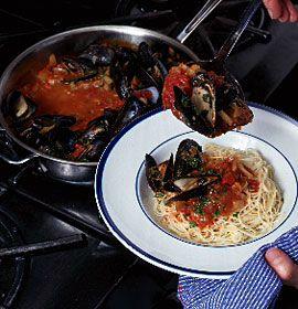 seafood gumbo seafood paella roasted shrimp baked shrimp angel hair ...