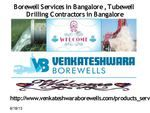 Borewell Services in Bangalore,Borewell Drillers in Bangalore