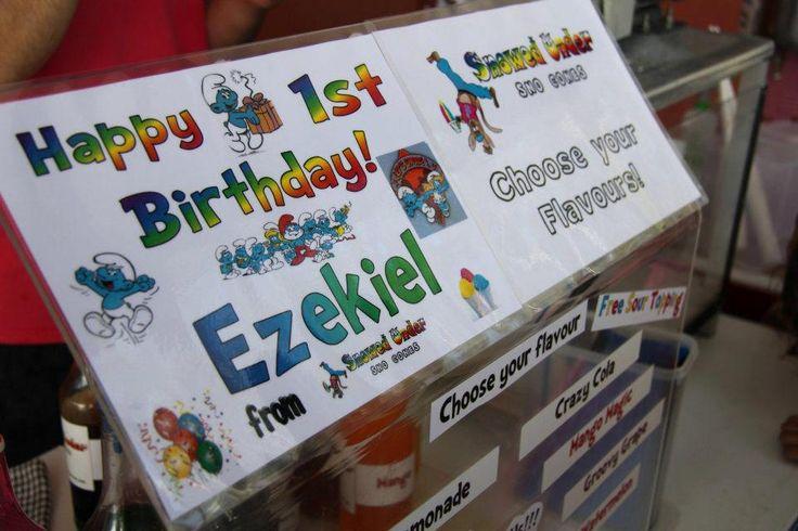 Ezekiel's 1st BD