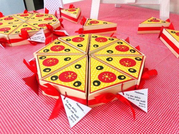Fatia de Pizza - Lembrancinha | Mimos e Encantos Ateliê | Elo7