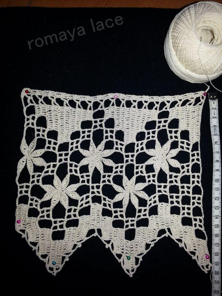 bordura crosetata | Romaya crochetart